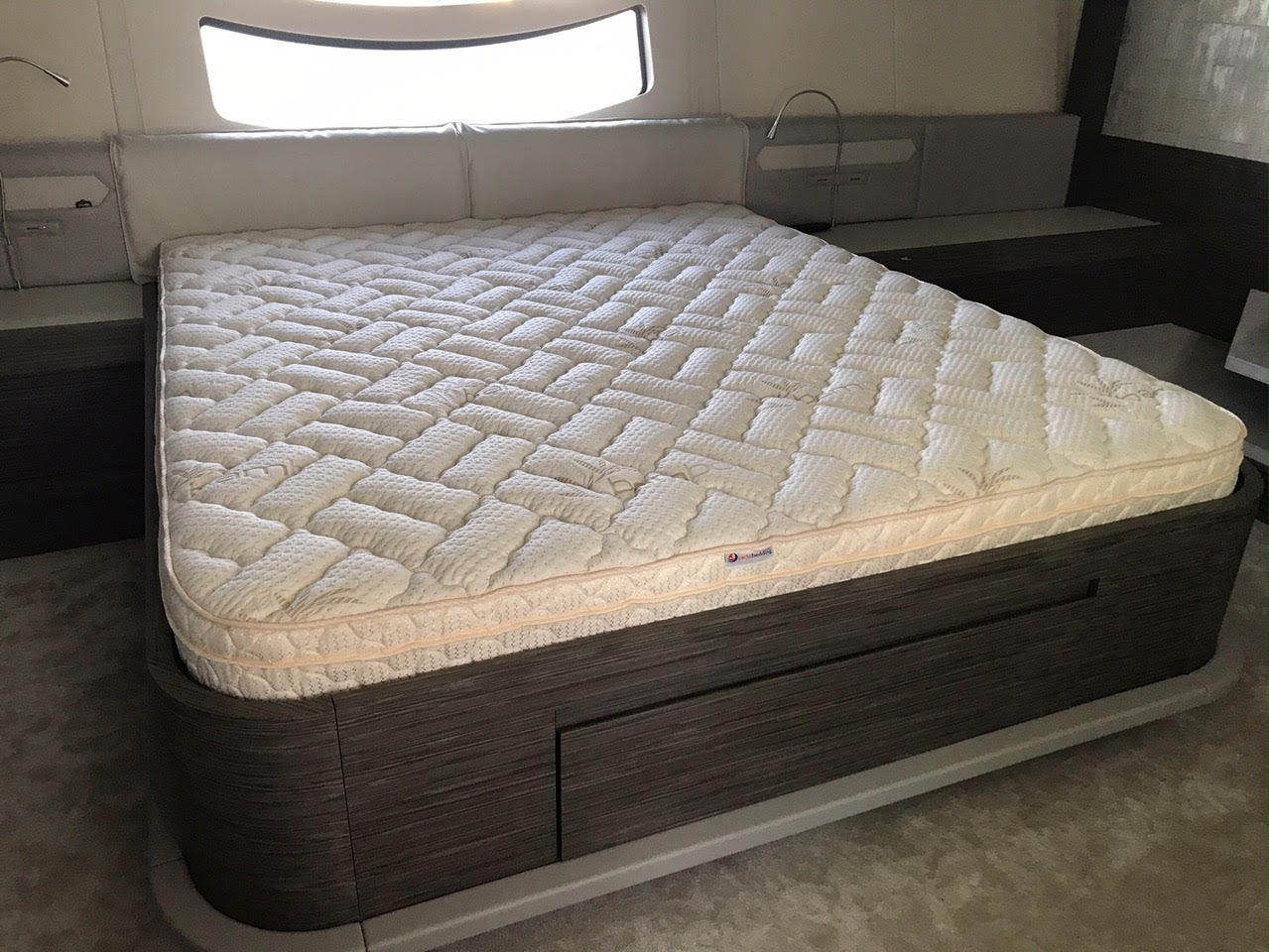 The Admiral 9 Memory Foam Pillow Top Rv Mattress Coach Bedding